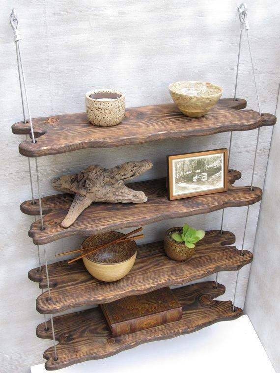 Driftwood Shelves