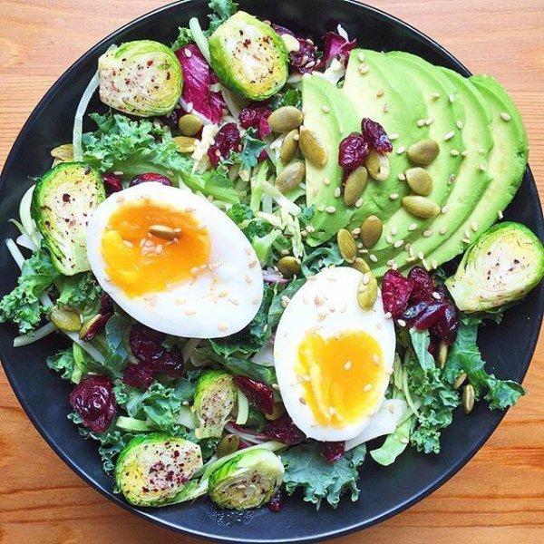 food, dish, salad, meal, produce,