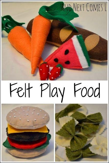 Felt Play Food