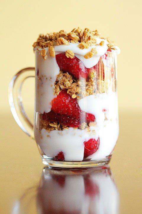 Yogurt-fruit-granola Parfait