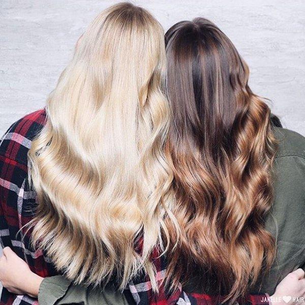 hair, hairstyle, blond, long hair, hair coloring,