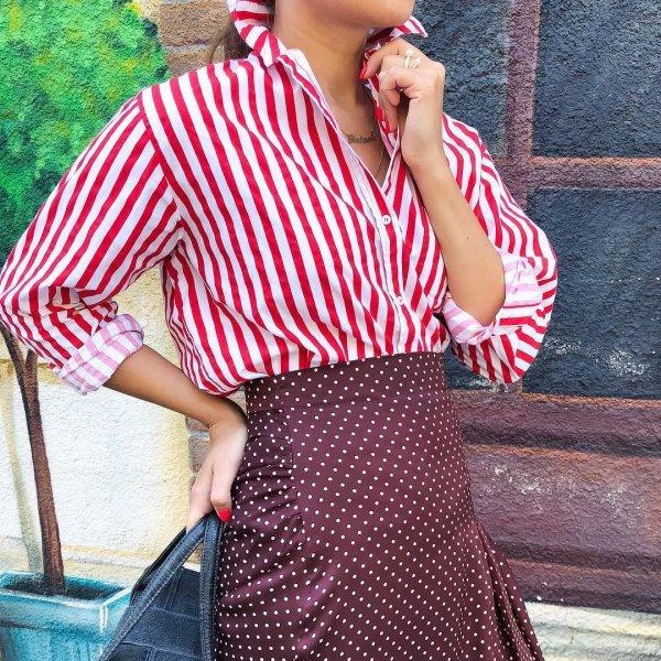 clothing, pink, shoulder, dress, plaid,