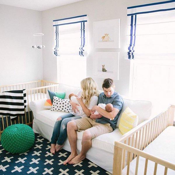 room, nursery, furniture, home, bed,