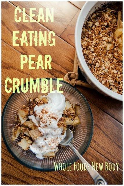 Pear Crumble