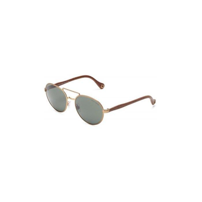 Polo Ralph Lauren round Sunglasses, Bronze & Gold