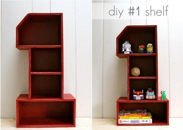 Number 1 Shelf