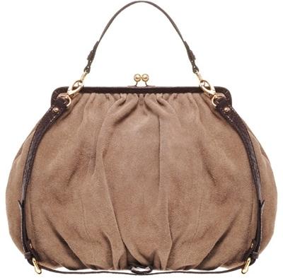 Asos Premium Leather Covered Frame Bag