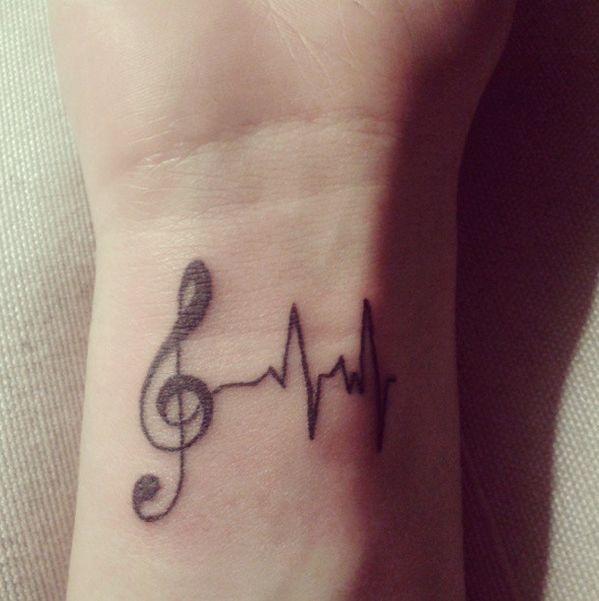 35 Tatuajes Para Amantes De La Música Que Tienes Que Ver Para Creer