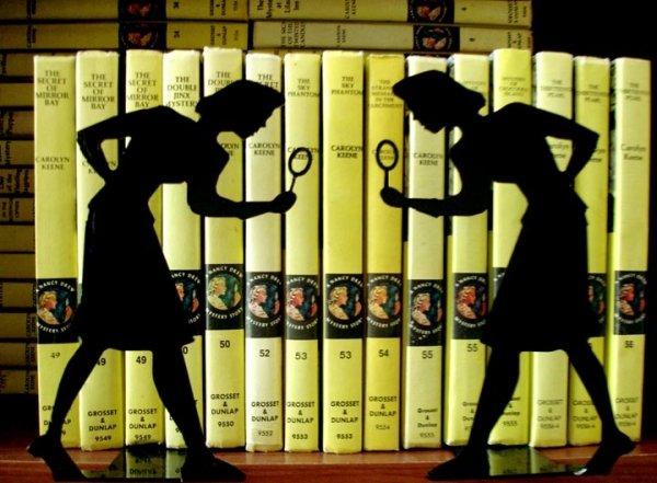 Nancy Drew Bookends