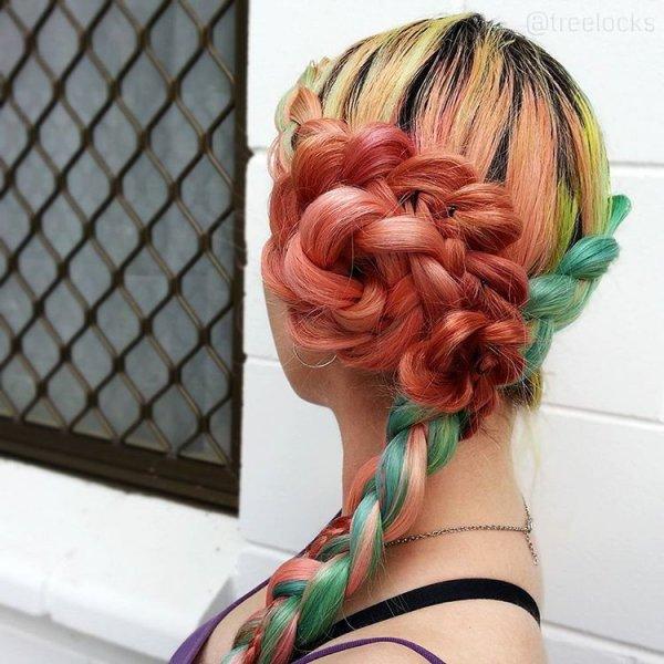 With Rainbow Hair