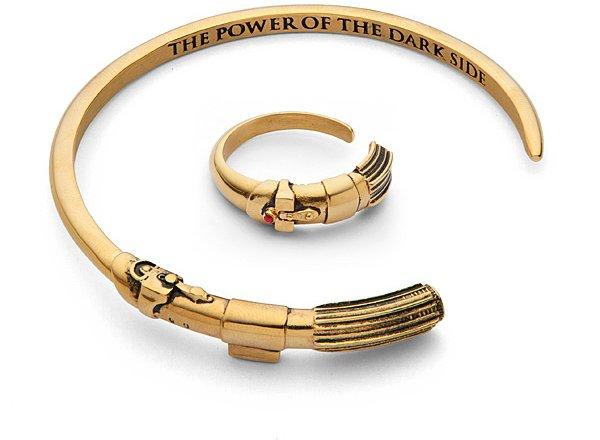 Vader Saber Bracelet & Ring