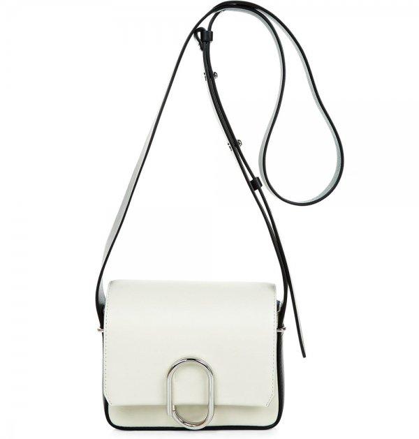 3.1 Philip Lim White Leather Allix Mini Bag