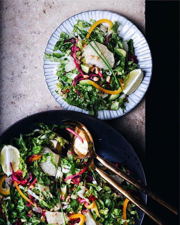 vegetable, salad, dish, food, leaf vegetable,