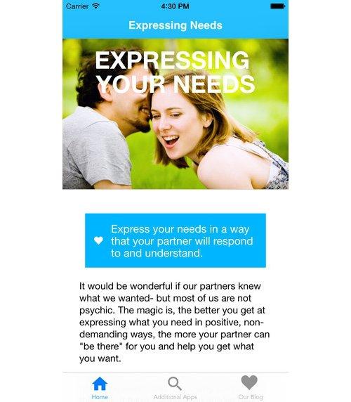 Expressing Needs