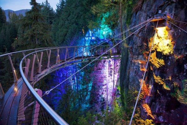 Capilano Suspension Bridge and Cliffwalk, Vancouver, Canada