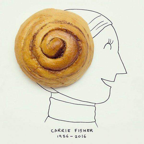 food, dessert, spiral, drawing, produce,