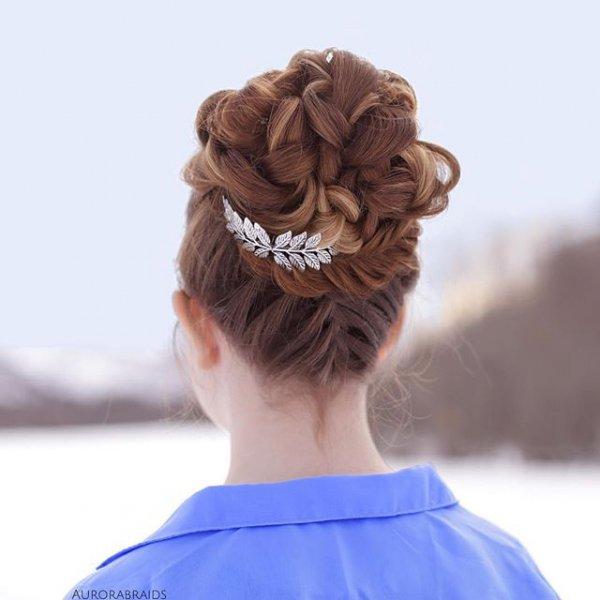 hair, hairstyle, head, long hair, bun,