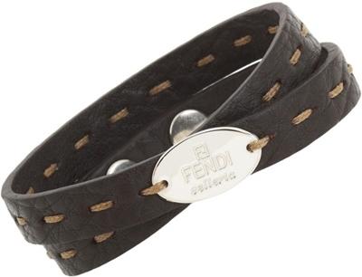 Fendi Stitched Bracelet