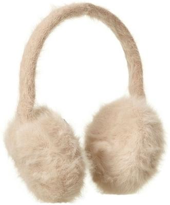 Topshop Beige Snowflake Earmuffs