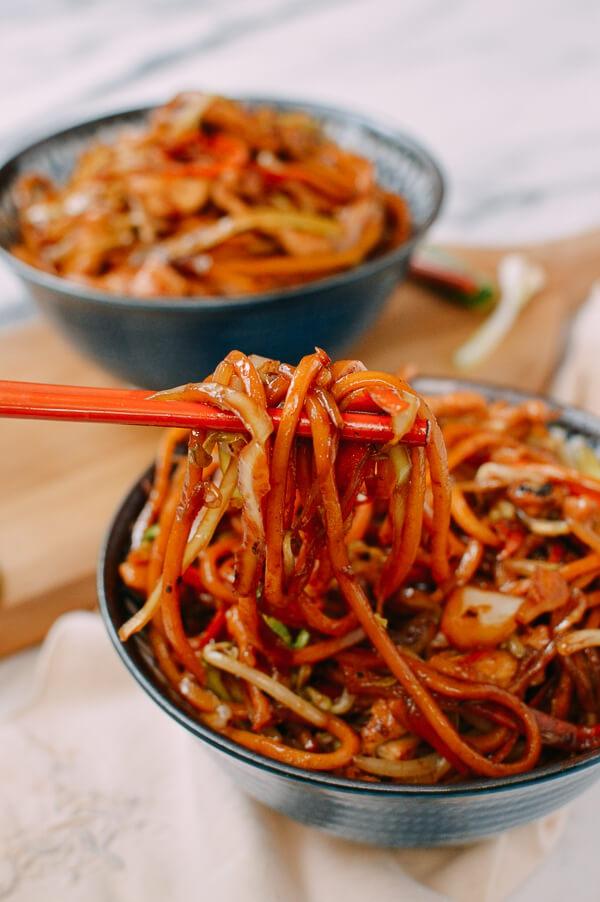 food, dish, spaghetti, cuisine, asian food,