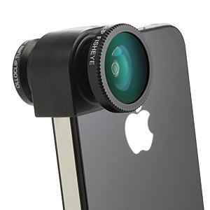 Clip-on Camera Lens
