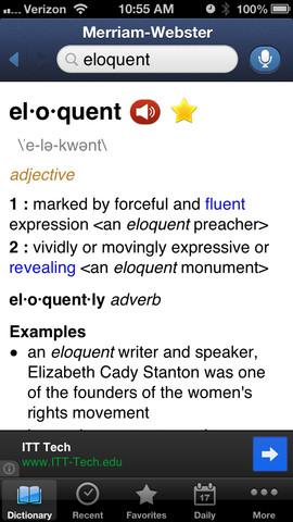 Merriem-Webster Dictionary