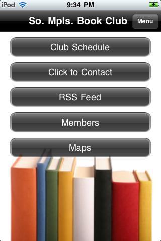 Book Club Mobile