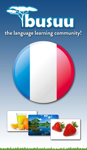 Learn French with Busuu