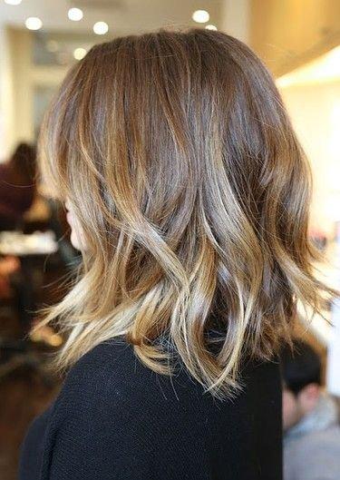 Sexy Waves On Medium Length Hair Summer Hair Loose