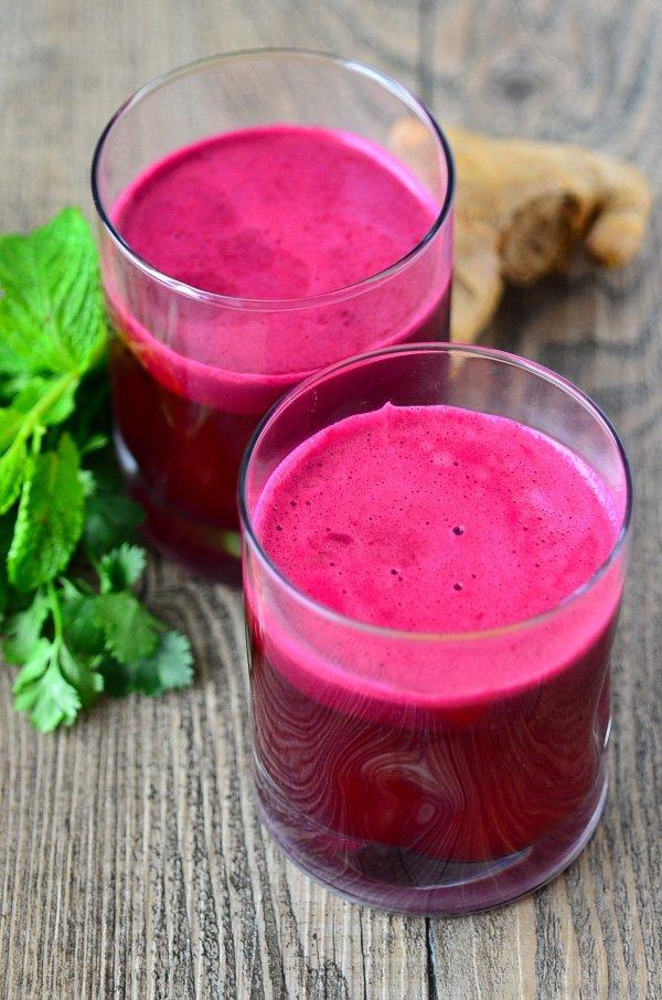 Beet Apple Spinach Juice