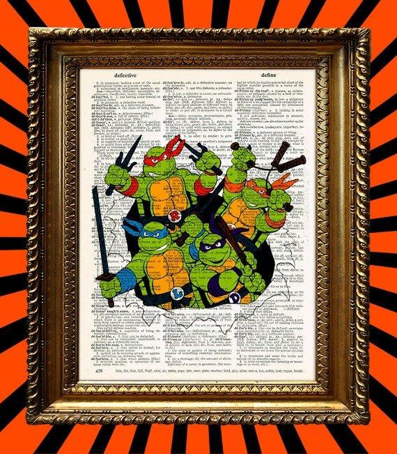 Teenage Mutant Ninja Turtles Wall Art