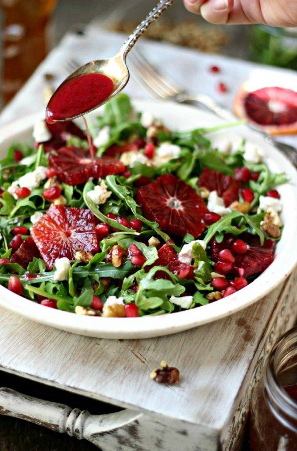 Arugula & Blood Orange Salad