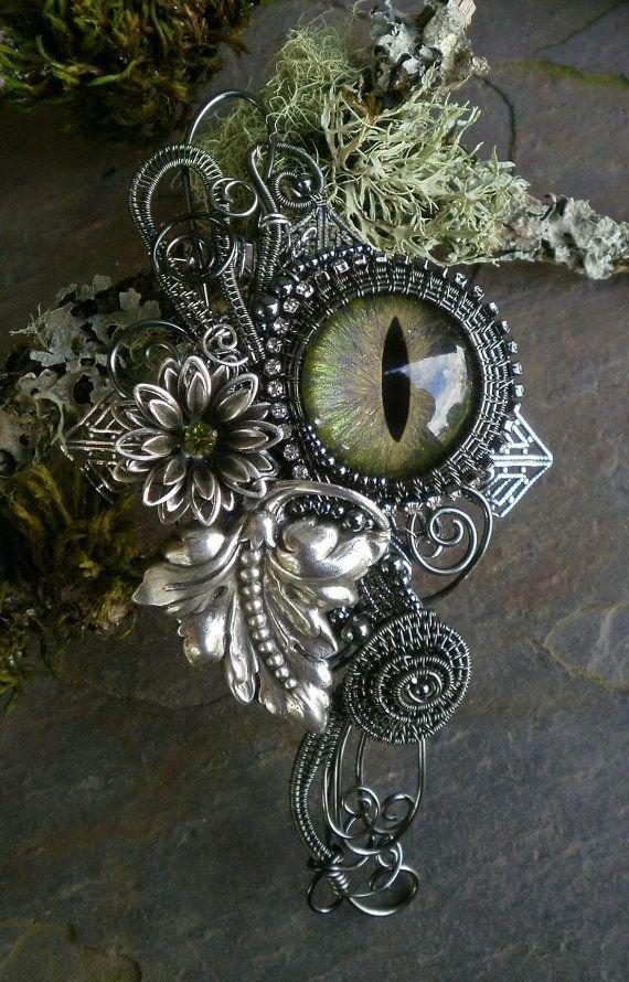 Gothic Steampunk Pin Pendant