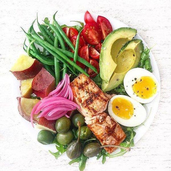 dish, food, meal, salad, produce,