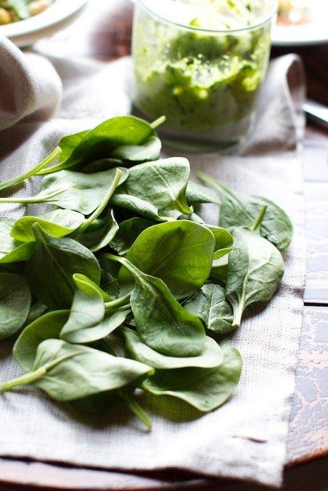 Spinach…