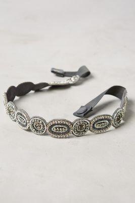 Ovallia Belt by Deepa Gurnani Dark Grey