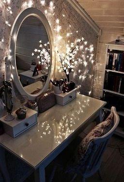 Decorated Vanity