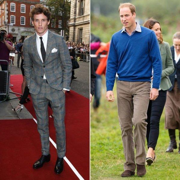 Eddie Redmayne & Prince William