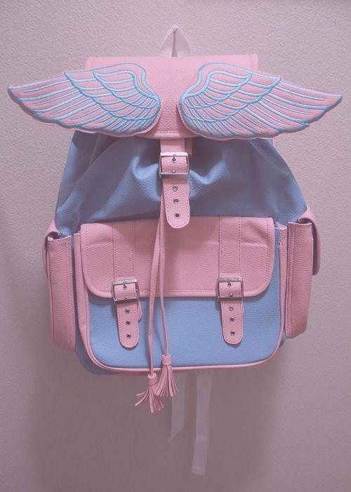 Pastel Wings Backpack