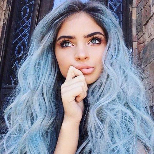hair, blond, blue, model, woman,