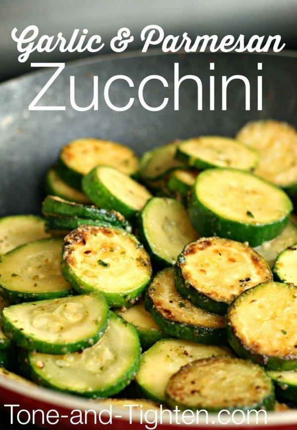 Garlic and Parmesan Zucchini