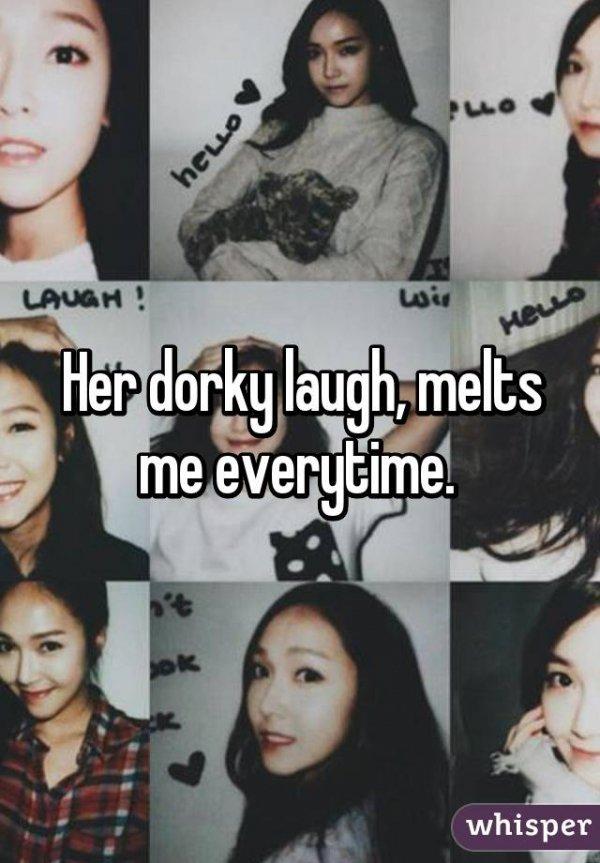 Her Dorky Laugh