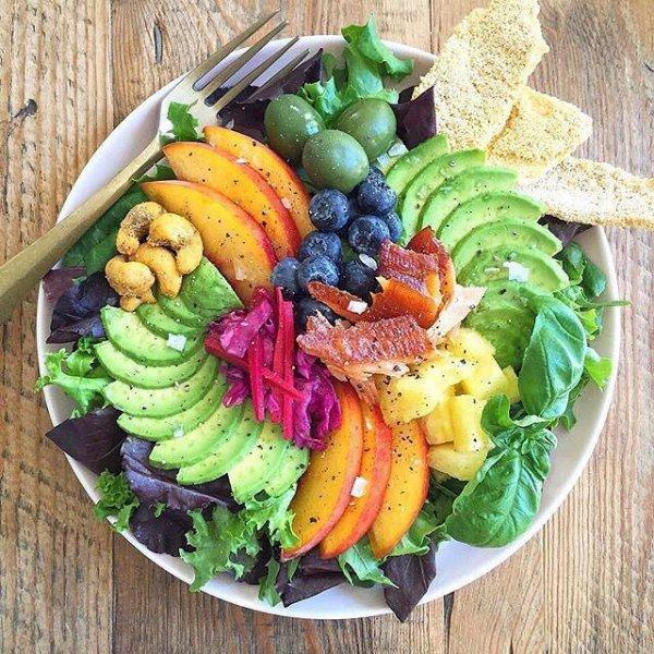 food, salad, produce, vegetable, dish,