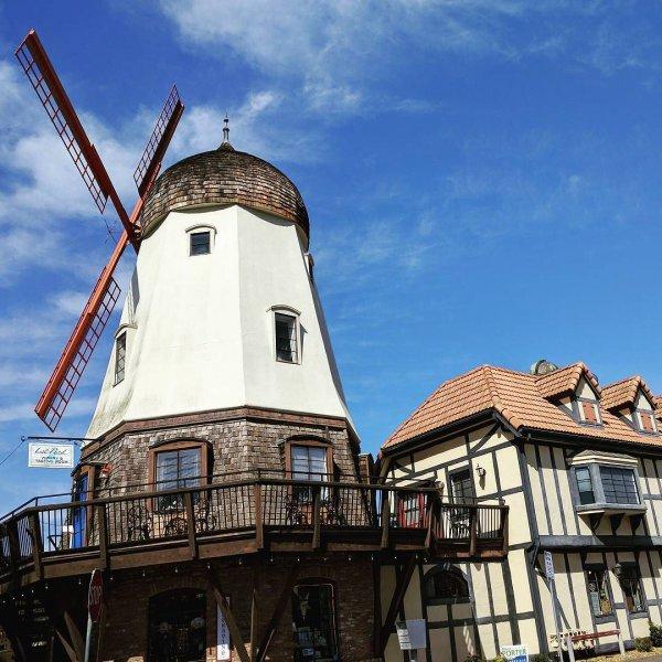 windmill, building, mill, sky, facade,