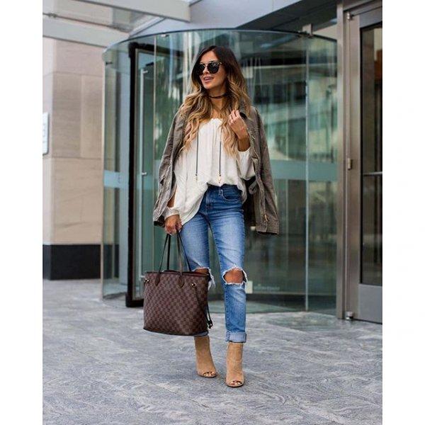 clothing, sleeve, denim, outerwear, blouse,