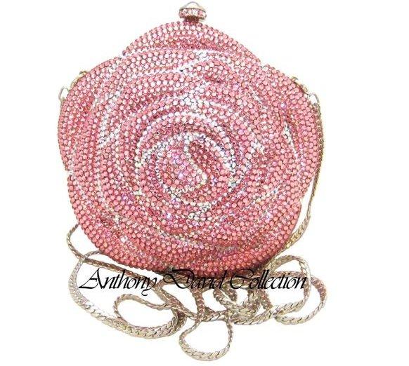 Pink Rose Evening Bag