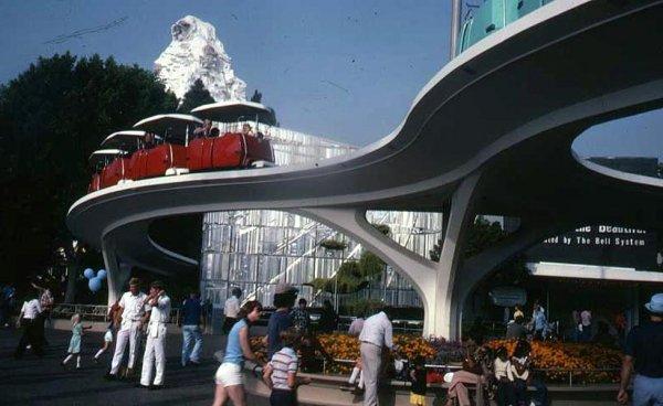 PeopleMover – Disneyland, 1967 - 1995