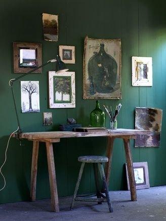 furniture,room,green,desk,home,
