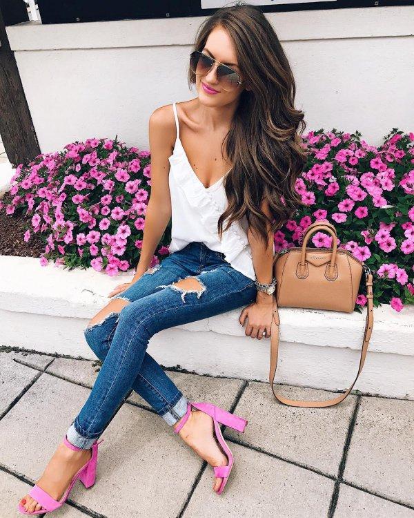pink, purple, clothing, footwear, eyewear,