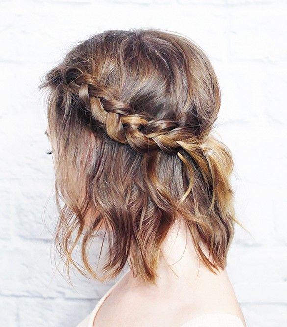 hair,hairstyle,long hair,french braid,brown hair,